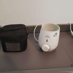 Medela Bottle Cooler & Phillips Bottle Warmer